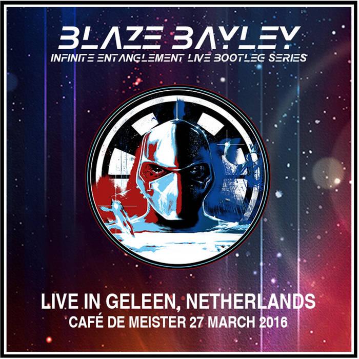 Blaze Bayley Cafe De Meister, Geleen, Netherlands, 27/03/16 cover art