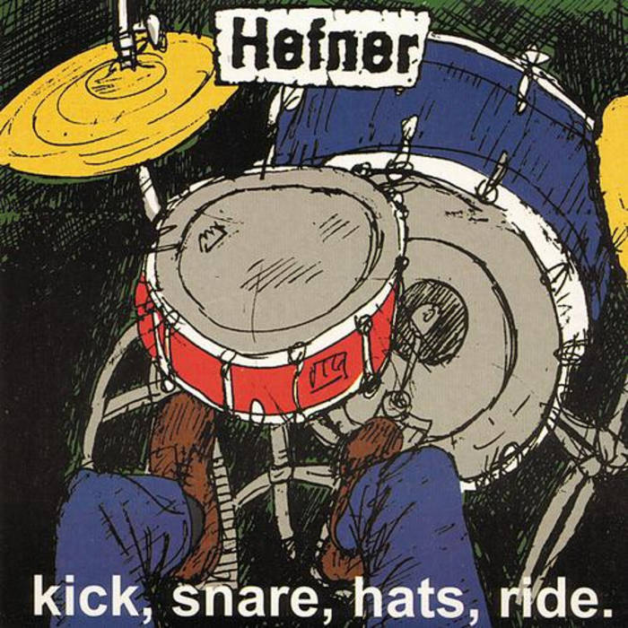 Kick, Snare, Hats, Ride cover art