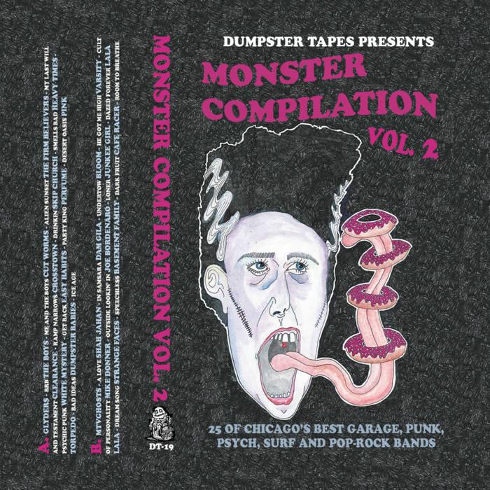 (V/A) Monster Compilation Vol. 2 cover art