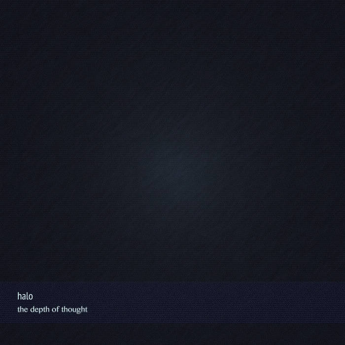 The depth of thought cover art