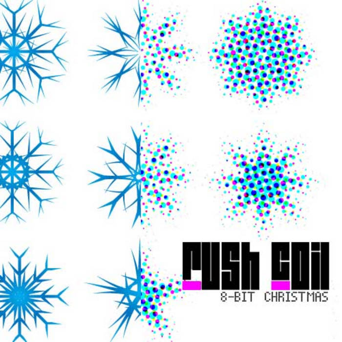 8-bit Christmas cover art