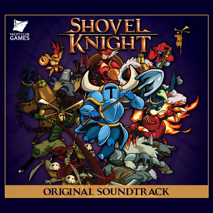 Shovel Knight Original Soundtrack cover art
