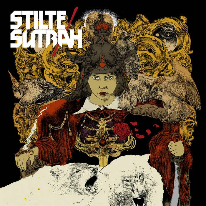 SUTRAH / STILTE SPLIT cover art