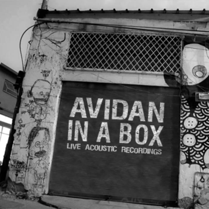 Avidan in a Box // Live Acoustic Recordings cover art