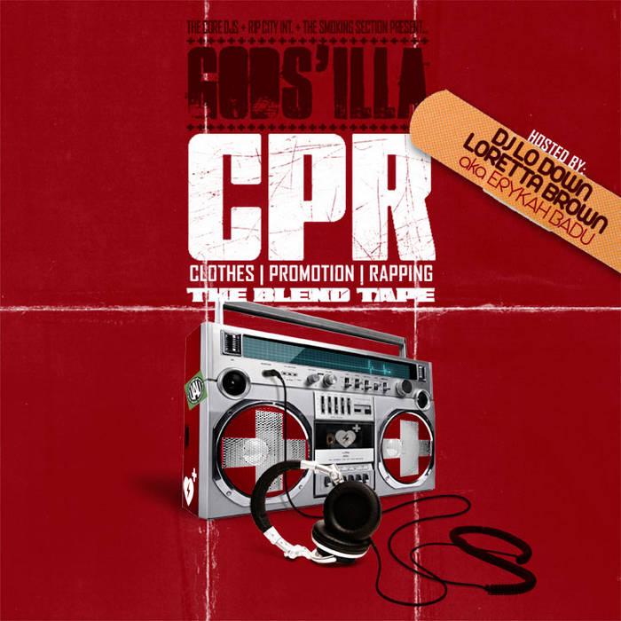 CPR BlendTape hosted by DJ Lo Down Loretta Brown aka Erykah Badu (Retail) cover art