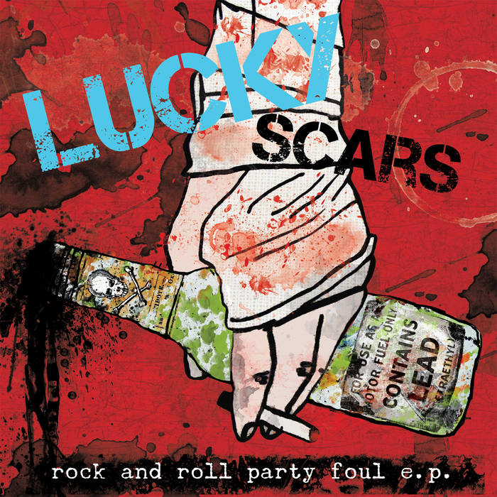 Rock and Roll Party Foul EP cover art