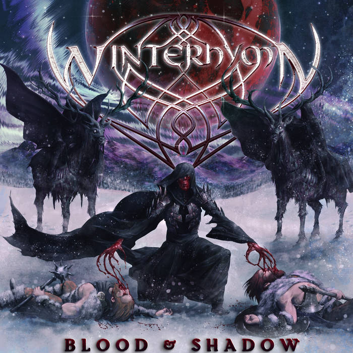 Blood & Shadow (Singles, 2016) cover art