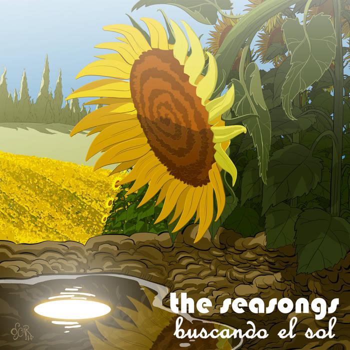 Buscando el sol cover art