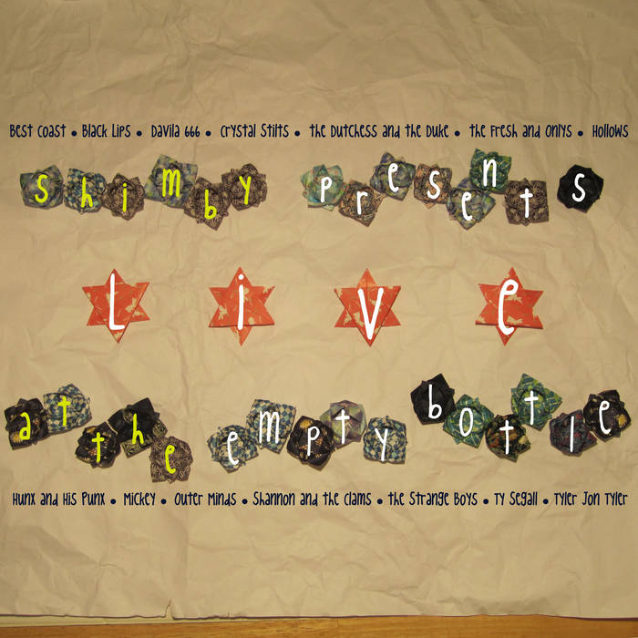 Vinyl Compilation cover art