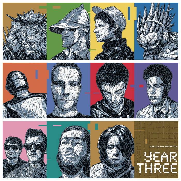 Year Three cover art