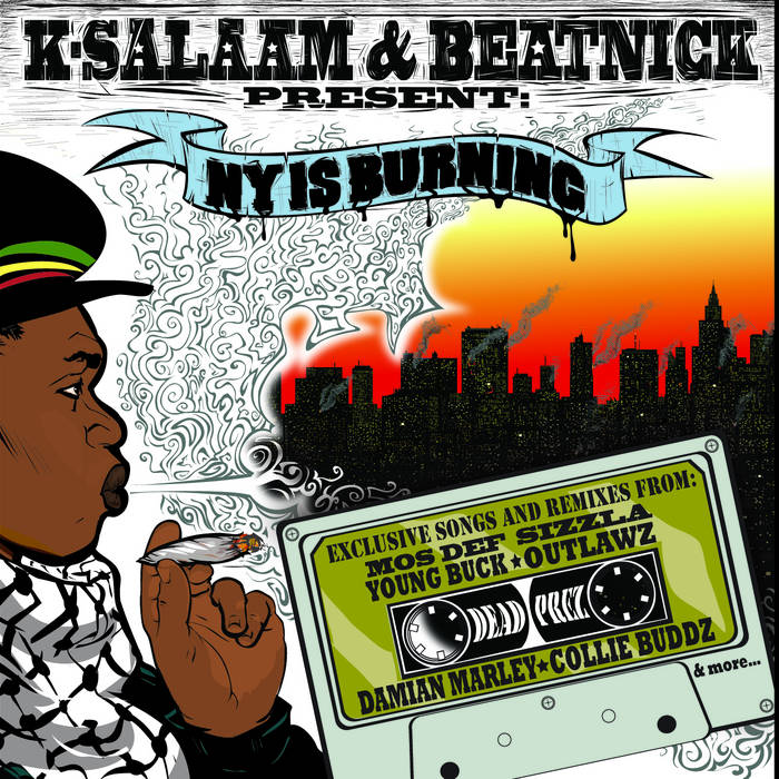 Beatnick & K-Salaam Present - NY Is Burning cover art
