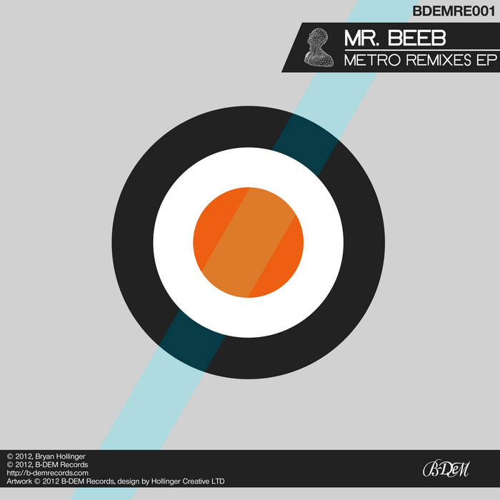 BDEMRE001: Mr Beeb - Metro Remixes EP cover art