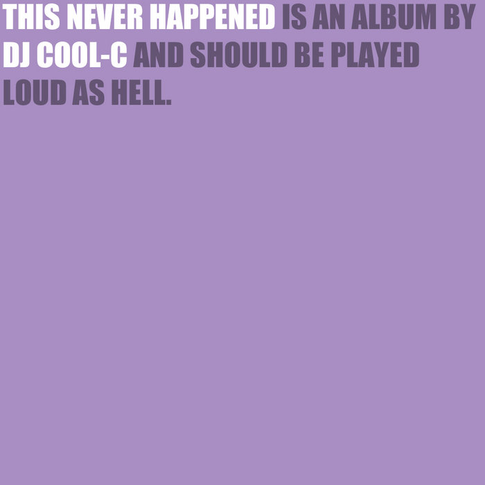 This Never Happened cover art