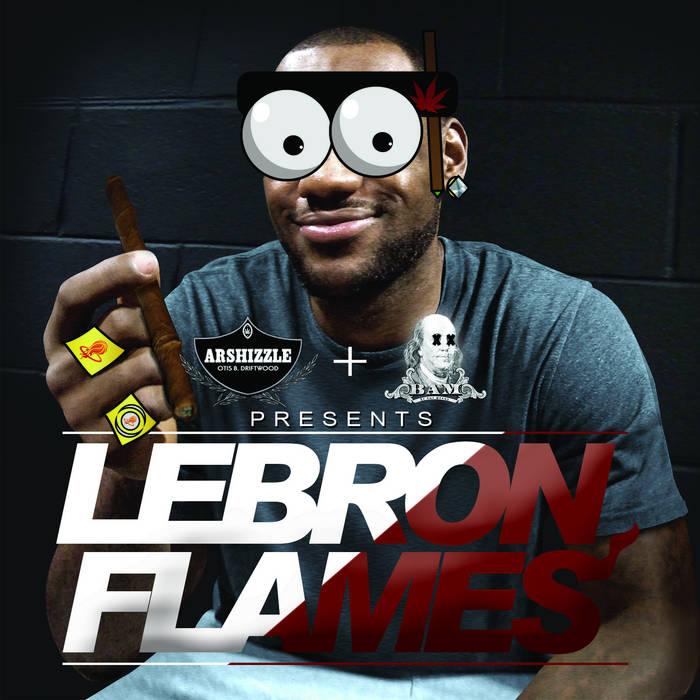 Lebron Flames cover art