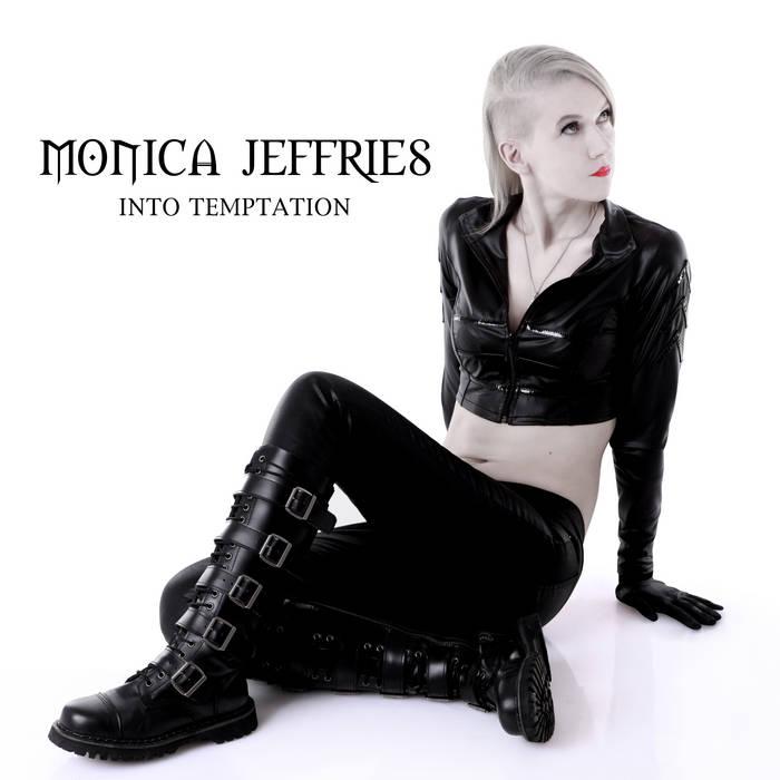 MONICA JEFFRIES ''INTO TEMPTATION'' (CD) cover art