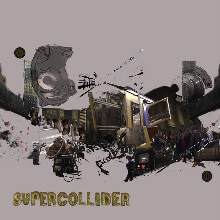 SuperCollider e.p. cover art