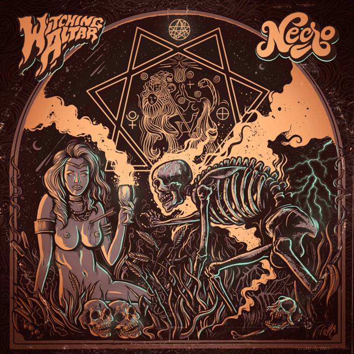 Witching Altar / Necro (Split) cover art