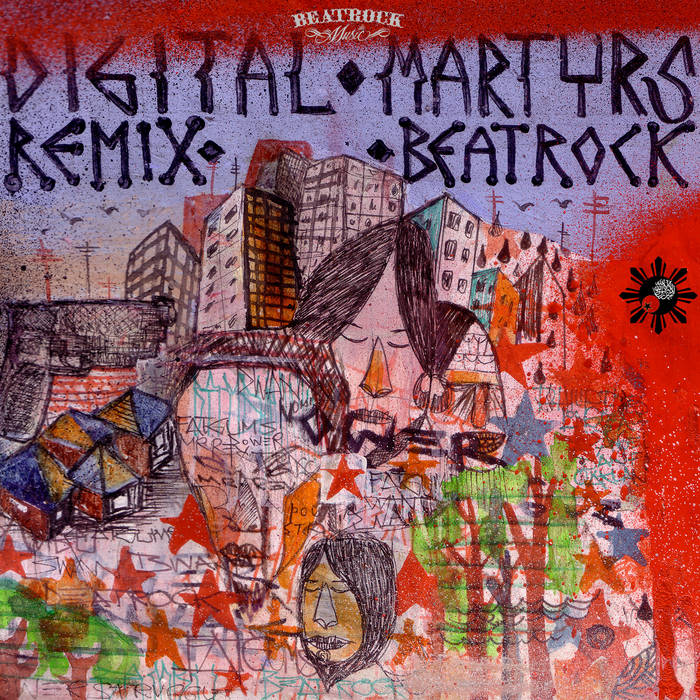 Digital Martyrs Remix Beatrock cover art