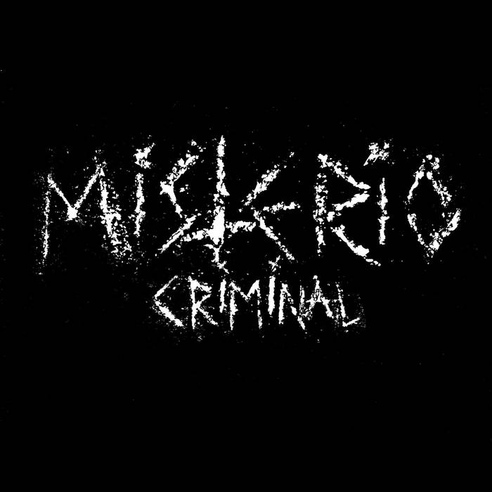 MISTERIO - CRIMINAL cover art