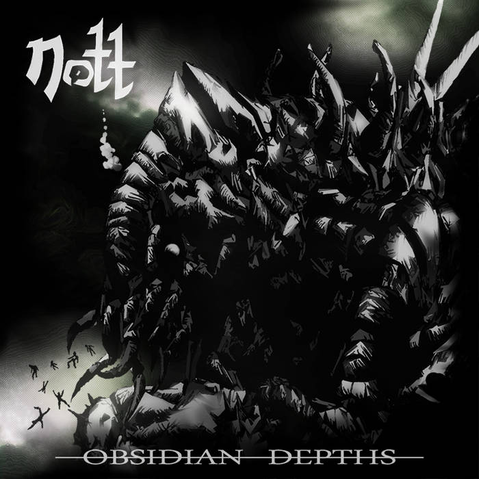 Obsidian Depths EP cover art