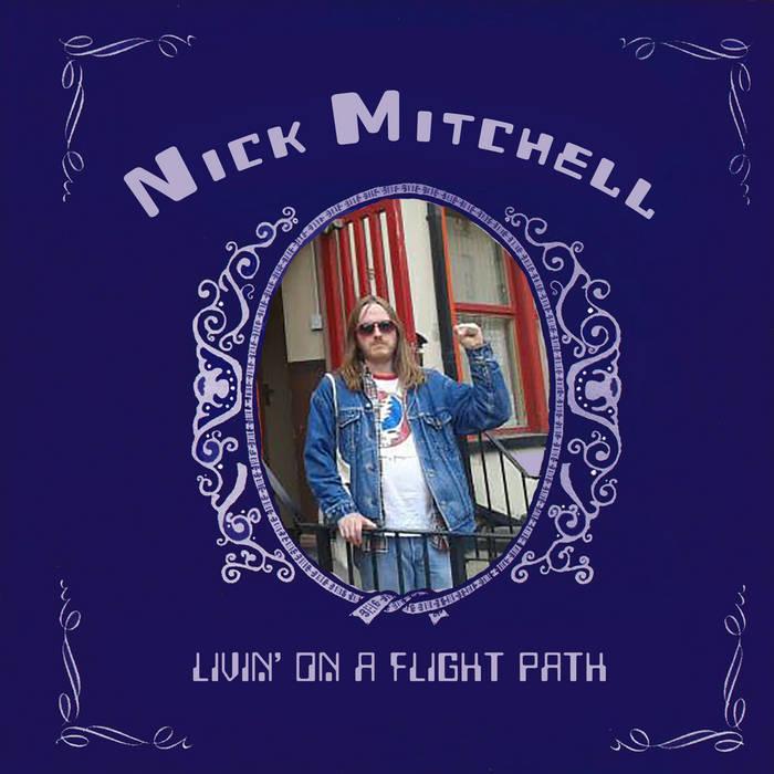 """Matt """"MV"""" Valentine/Nick Mitchell split 7"""" cover art"""