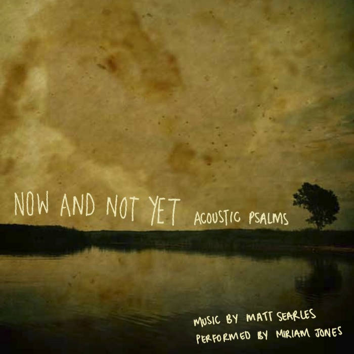 now and not yet cover art