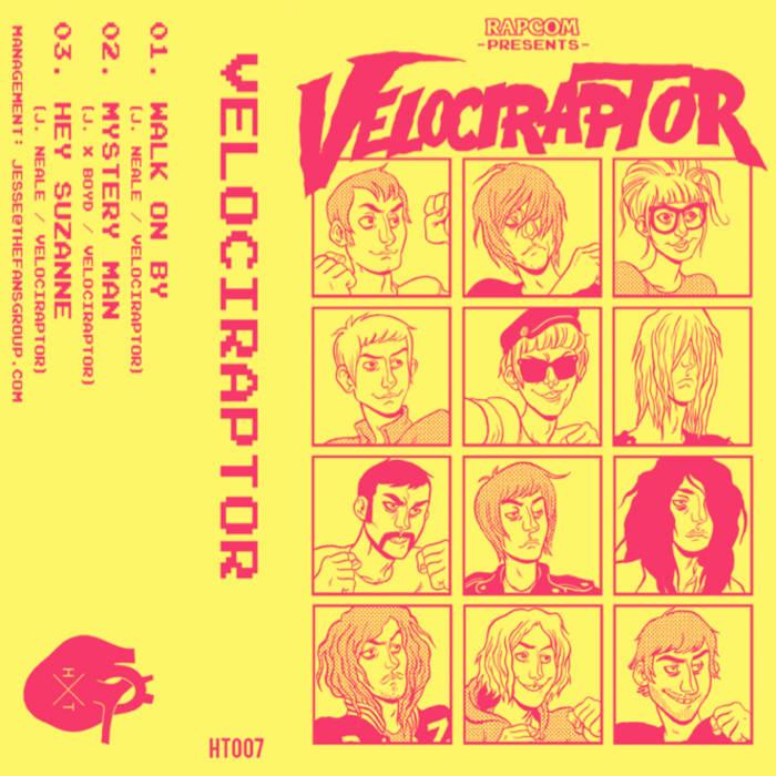 Velociraptor EP cover art