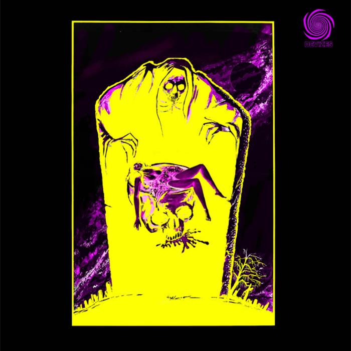 """Split 7"""" w/ Kroh cover art"""