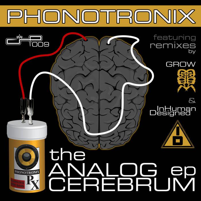 The Analog Cerebum EP cover art