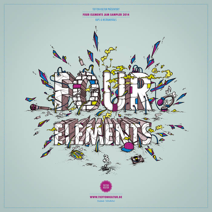 FOUR ELEMENTS JAM SAMPLER 2014 cover art