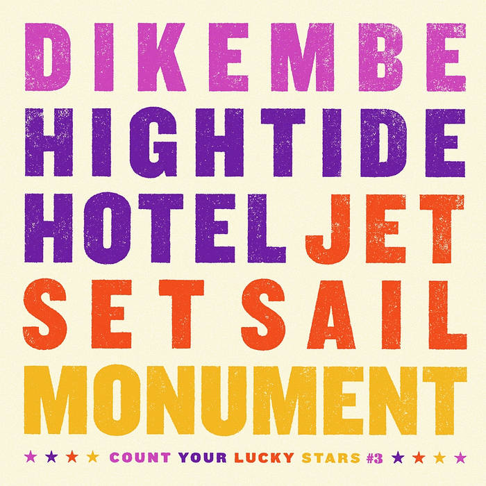 Dikembe/Hightide Hotel/Jet Set Sail/Monument cover art