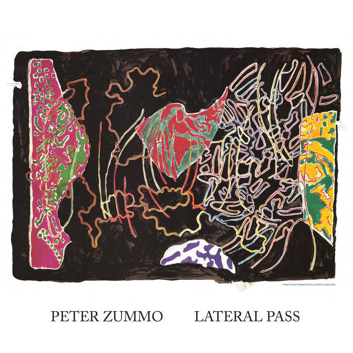 Peter Zummo feat. Arthur Russell - Lateral Pass cover art