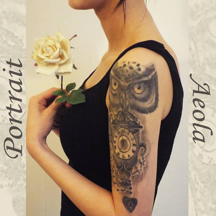 Portrait cover art
