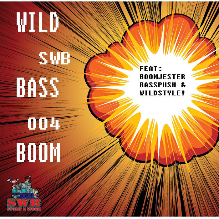 Wild Bass Boom!! EP (SWB004) cover art