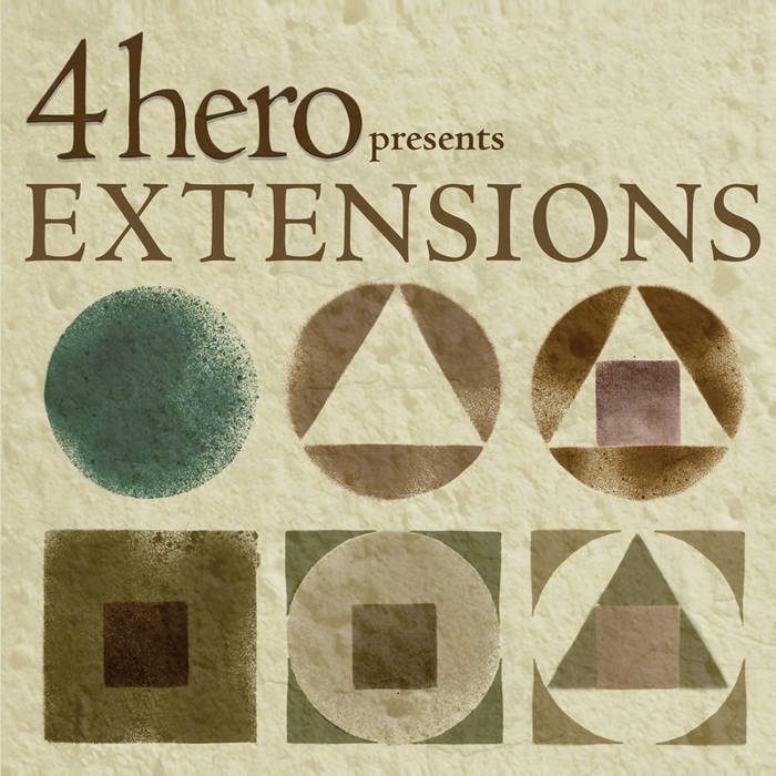 4hero presents EXTENSIONS cover art