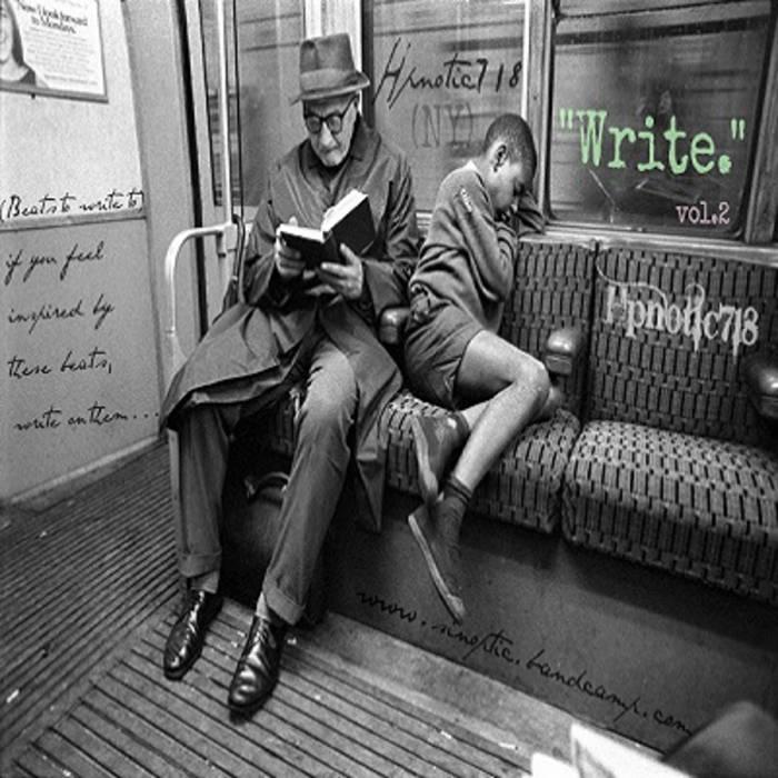 """Write."" vol.2 cover art"