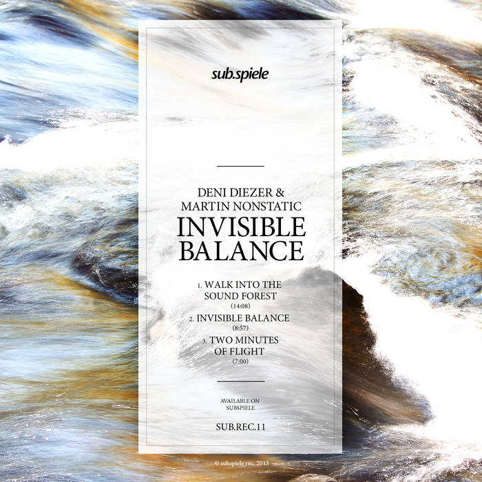 Invisible Balance cover art