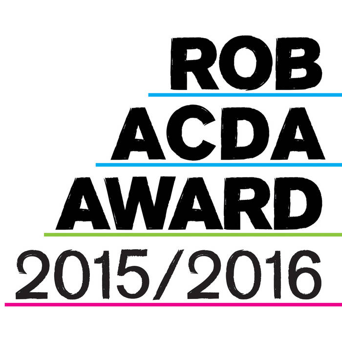 Rob Acda Award 2015/2016 cover art