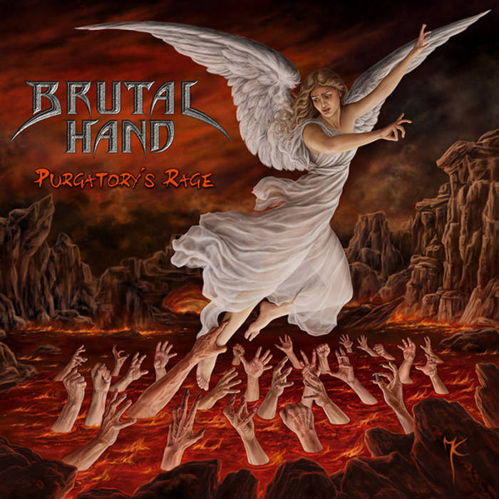 "BRUTAL HAND ""Purgatory's Rage"" cover art"
