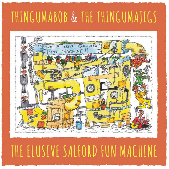 The Elusive Salford Fun Machine cover art