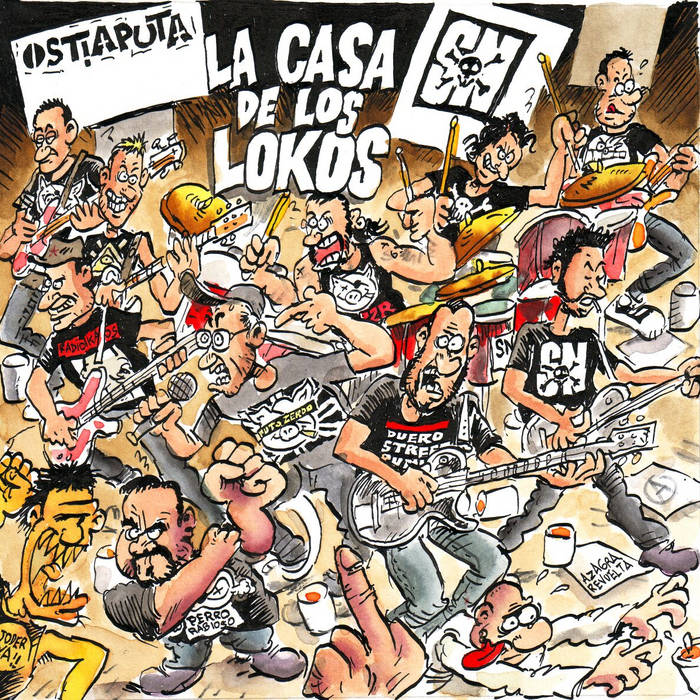 LA CASA DE LOS LOKOS cover art