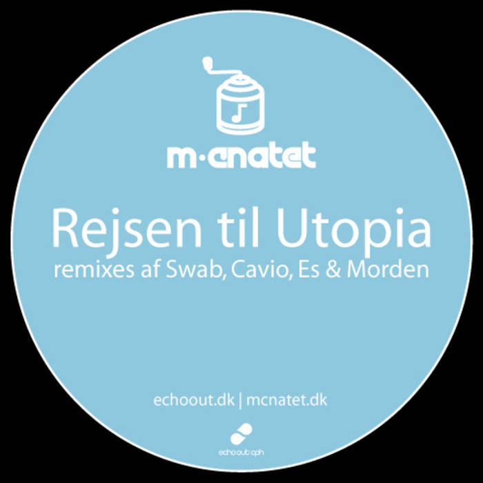 "Rejsen til Utopia single + 4 remixes + det glemte titelnummer ""Om nogen"" (DOWNLOAD) cover art"