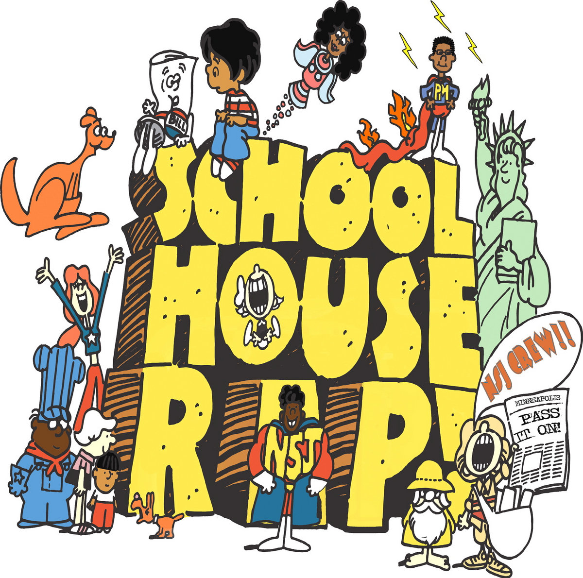 May The 4th Be With You Minneapolis: School House Rap