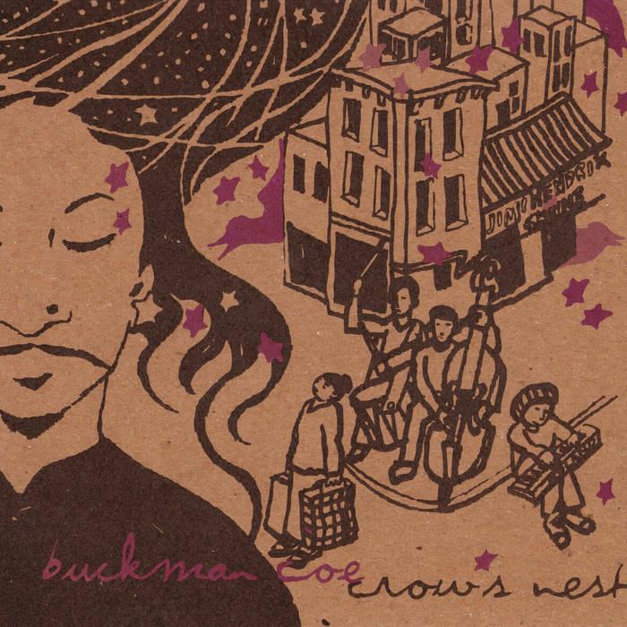 Crow's Nest e.p. cover art