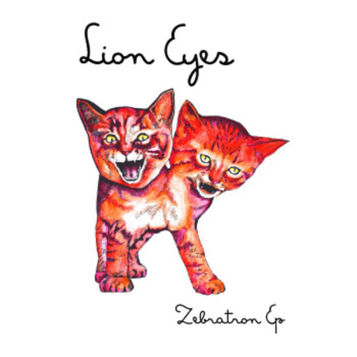 Zebratron EP cover art