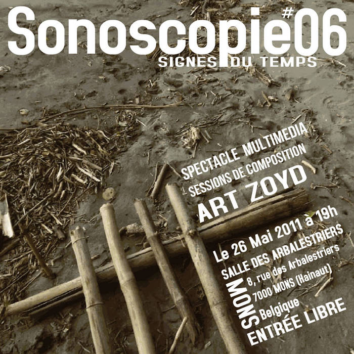 Sonoscopies 2011 - Art Zoyd cover art
