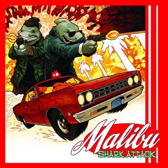 Malibu Shark Attack cover art