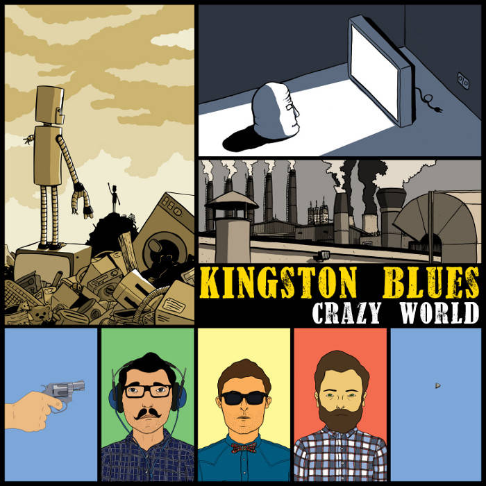 Crazy World cover art