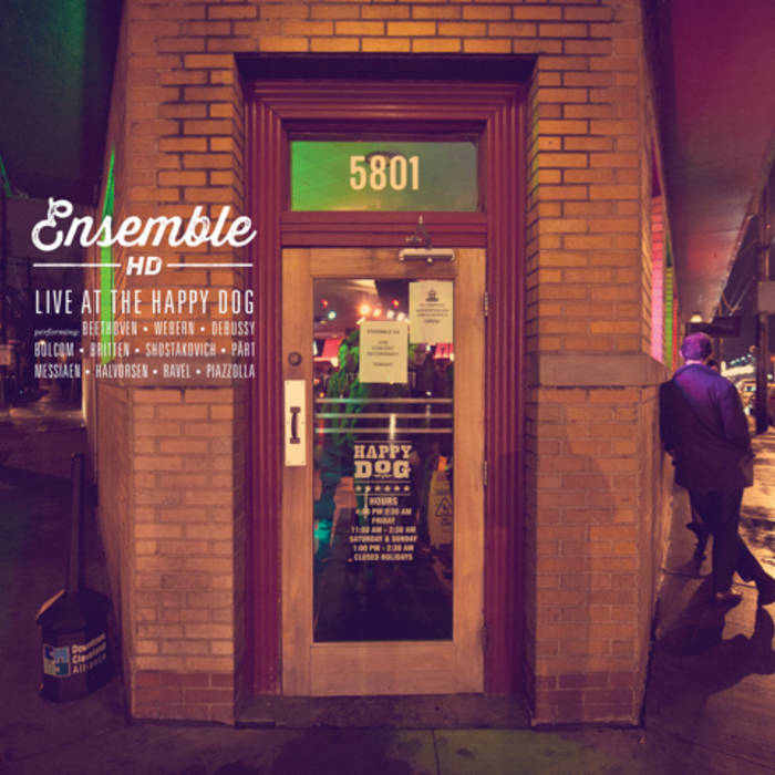 Ensemble HD Live at the Happy Dog cover art