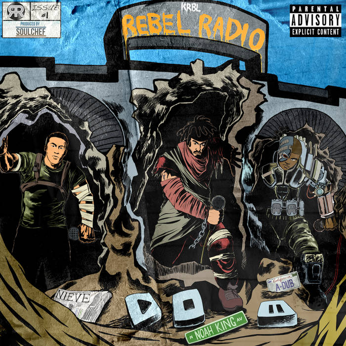 KRBL Rebel Radio cover art